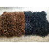 Wholesale 10-15cm Long Hair Real Sheepskin Rug Mongolian Super Soft Texture For Bedroom from china suppliers
