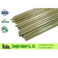 Wholesale High Temperature Resistant PPS Rod with Custom Length , Natural Brown from china suppliers