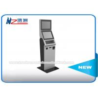 Wholesale 17 Inch Coin Counting Free Standing Kiosk With Keyboard , Coin Counter And Sorter Machines from china suppliers