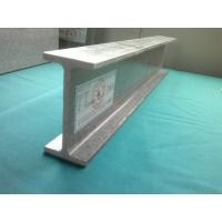 Wholesale Silver Durable Tough FRP I-Beam , Reinforced Fiberglass I Beams from china suppliers