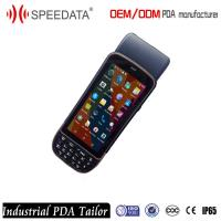 Wholesale Rugged Android Mobile PDA Barcode Scanner Printer for Cargo Management from china suppliers