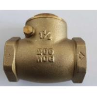 Wholesale Water Supply Drainage System Forged Steel Valves , Brass Check Valve from china suppliers