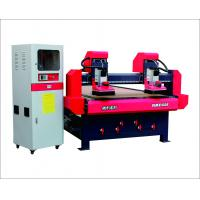 Wholesale high efficiency two heads cnc wood router with vaccum table 1325 cnc wood router for furniture from china suppliers