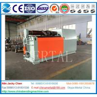 Wholesale Factory Manufactured Hydraulic 4 Roller CNC Plate rolling machine  with CE Standard from china suppliers