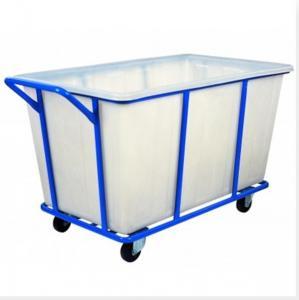 Rotational Plastic laundry trolley cart 1000L