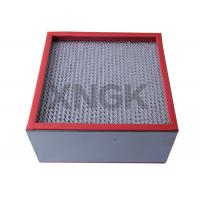 Wholesale Chemical Industry High Temperature Hepa Filters 99.99 Efficiency SUS Frame from china suppliers