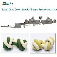 Buy cheap Dog Chewing Treats Extruding Processing Line/Pet Treats Chews Extruder from wholesalers