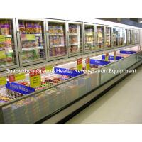 Wholesale Stainless Steel Upright Island Combination Freezer -18 Degree Eco Friendly from china suppliers
