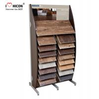 Wholesale Decoration Tile Display Racks Floor Show Tile Stand Wooden Floor Tile Merchandising from china suppliers
