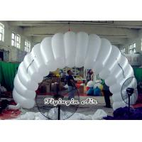 Buy cheap White Inflatable Car Tent, Inflatable Party Tunnel, Inflatable Tent for Sale from wholesalers