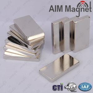 China N52 Block Neodymium Magnet 20x21x4mm on sale
