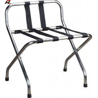 Wholesale Stainless Steel High Back Luggage Stand-Tubular Luggage Racks from china suppliers