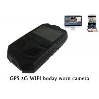 Wholesale 3G GPS WIFI Police Body Worn Camera Portable DVR For Law Enforcement from china suppliers