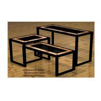 Wholesale Commercial Boutique Display Tables , Heavy Duty Tiered Retail Display Tables Portable from china suppliers