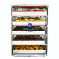 China High Efficiency Industrial Food Dehydrator Machine Durable For Potato Chips on sale