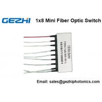 Quality Mini Size 1x8 Opto-Mechanical Optical Switches 8x1 Latching Fiber optic Switch for sale
