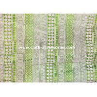 Wholesale 1.25 M Schiffli Chemical Lace Fabric /  Embroidery Lace Fabric For Wedding Dresses from china suppliers