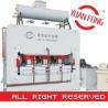 Buy cheap short cycle laminating hot press line from wholesalers