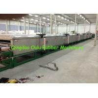 Wholesale Low Power Consumption Rubber Mat Machine 40×2×2 M Space Required from china suppliers