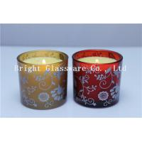 Wholesale Glass Candle Holder With Wax , Candle Jar With Lid Cover from china suppliers