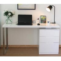 Wholesale White Corner Computer Desk With Drawers Contemporary Home Office Furniture from china suppliers