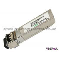 Wholesale Durable SFP 10G Optical Transceiver , MM SFP LC Transceiver Short Range 300M from china suppliers