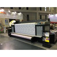 Quality High Speed Kyocera Print Head Digital Textile Printing Machine Dual CMYK for sale