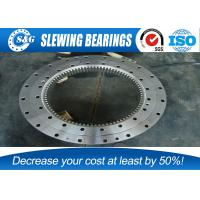 Wholesale Three Row Crane Slewing Bearing For Knuckle Boom Type Offshore Crane from china suppliers