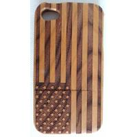 Wholesale Samsung Galaxy S Phone Case , Wooden Phone Cases Can Be Carved / Silk Screen Personality Pattern from china suppliers