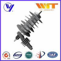 Wholesale 18KV Silicon Rubber Metal Oxide Station Class Surge Lightning Arresters for Transformer Protection from china suppliers