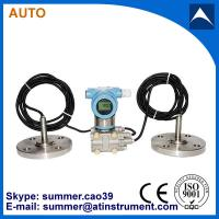 Wholesale 4-20mA remote dule flanges differential pressure liquid level transmitter from china suppliers