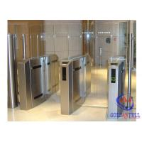 Wholesale Fashionable Security Speed Gate High Working Speed Glass Turnstile For Public Service from china suppliers