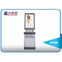 Wholesale Windows OS Touch Screen Information Kiosk Self Service In Hotel , White from china suppliers