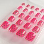 Wholesale ABS material The polka dot Toe False nail / Fake Toe Nails from china suppliers