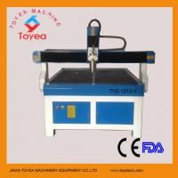 Wholesale 1200 x 1200mm advertising cnc router machine with vacuum table 3KW water cooling spindle HIWIN square rail TYE-1212-V from china suppliers