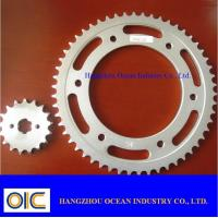 Wholesale Motorcycle Sprocket, type Honda , Yamaha , Suzuki , Kawasaki , Bajaj , CG125 , CG150 , CD70 from china suppliers