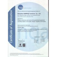 Futime Manufacturing Ltd. Certifications