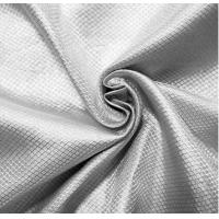 China 100%silver RF shielding silver fiber fabric for military tent anti-signal fabric on sale