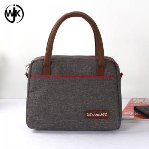 Wholesale new design small women bags Guangzhou factory latest handbag different printing oxford lady handbag