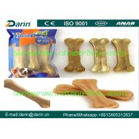 Wholesale Natural bone Pressed Rawhide Bones , dog food making machine with high speed from china suppliers