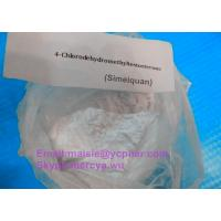 Wholesale Anti Estrogen Muscle Building Bulking Steroids Turinabol-oral / 4-Chlorodehydromethyltesto from china suppliers