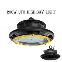 Wholesale 200W Outdoor UFO Waterproof IP65 Industrial LED High Bay Light Meanwell Driver from china suppliers