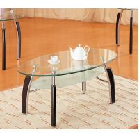 Wholesale Clear Modern Glass Bar Table Chrome Tubes Round Extendable Dining Table from china suppliers