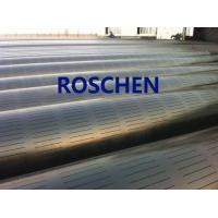 Wholesale Slotted Pipe , Carbon Steel Tube , Oil Screen Tube Control Sand Coring Drilling from china suppliers