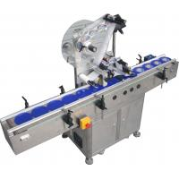 Wholesale Automatic Flat Surface Label Applicator Machine,SUS304 stainless steel economy automatic top and side labelling machine from china suppliers