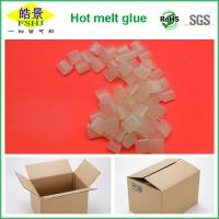 Wholesale Rubber Hot Melt Glue Packaging Granule ,  Packing Box Adhesive Non Toxic from china suppliers