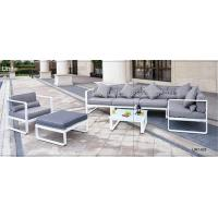 Wholesale Flexible Backyard Furniture Set Sectional Outdoor Sofa For Relaxing / Sitting from china suppliers