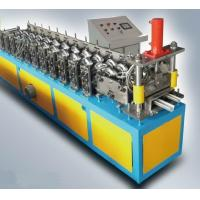 Wholesale High speed Steel Hat Cap / Stud And Track Roll Forming Machine Mitsubishi PLC from china suppliers