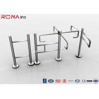 Wholesale Entrance Revolving Gate Half Height Turnstiles 0.2s Opening / Closing Time from china suppliers