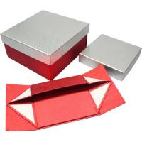 Wholesale High grade foldable Paper Gift Boxes , magnets closure paper gift wine box from china suppliers